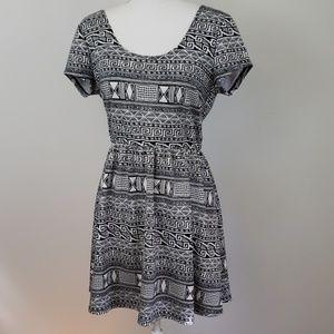 Timing : Mayan Geometric Style Dress